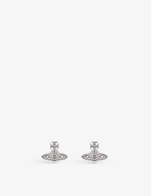 VIVIENNE WESTWOOD JEWELLERY Minnie Orb stud earrings