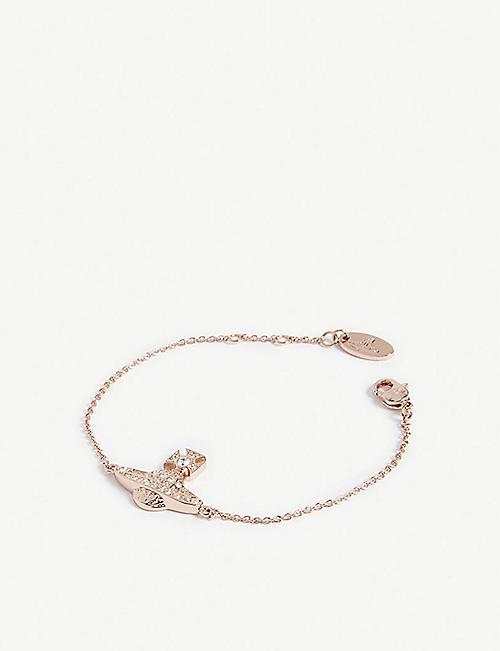 ead67cea8845 VIVIENNE WESTWOOD JEWELLERY Minnie Bas Relief bracelet