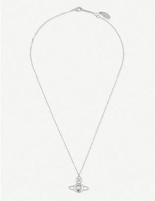 VIVIENNE WESTWOOD JEWELLERY: Nora orb pendant necklace