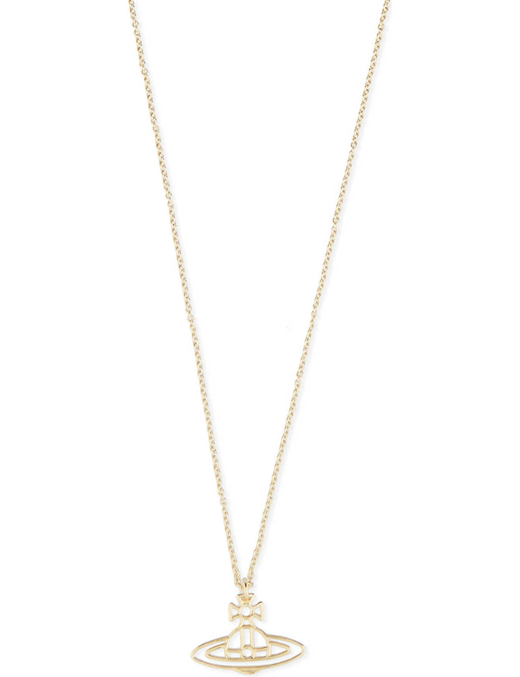 2e3a6afb2cdbf9 VIVIENNE WESTWOOD JEWELLERY - Thin lines flat orb pendant ...