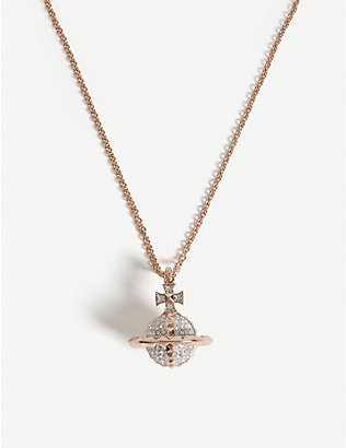 VIVIENNE WESTWOOD JEWELLERY: Mayfair orb pendant necklace