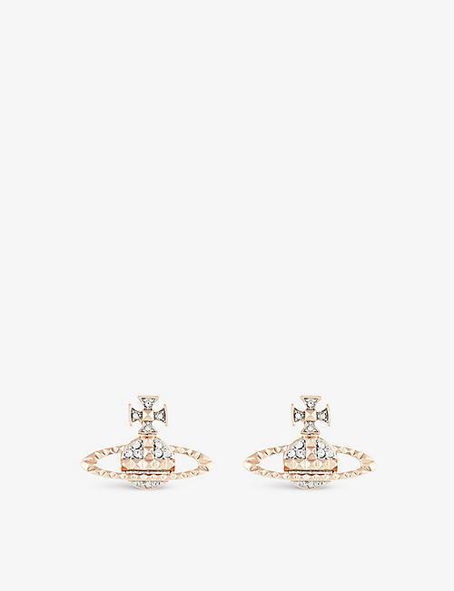 VIVIENNE WESTWOOD JEWELLERY: Mayfair Bas Relief earrings