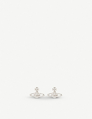 VIVIENNE WESTWOOD JEWELLERY Mayfair bas relief earrings