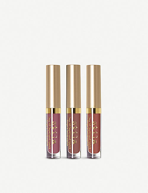 STILA Stay All Day Liquid Lipstick Set 3 x 1.5ml