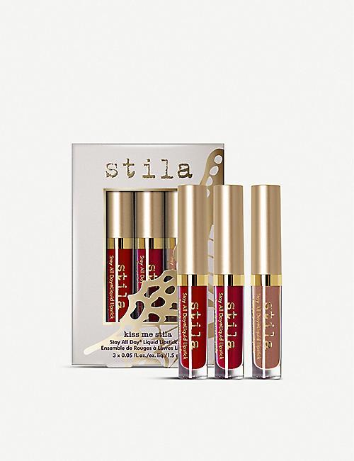 6b48b7075a9 STILA Stay All Day Liquid Lipstick Set 3x1.5ml