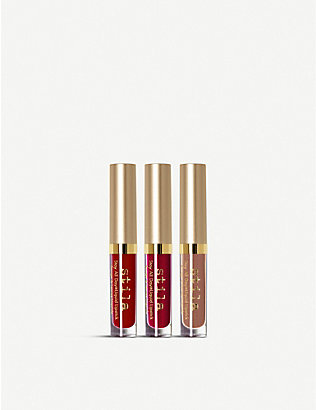 STILA: Stay All Day Liquid Lipstick Set 3x1.5ml
