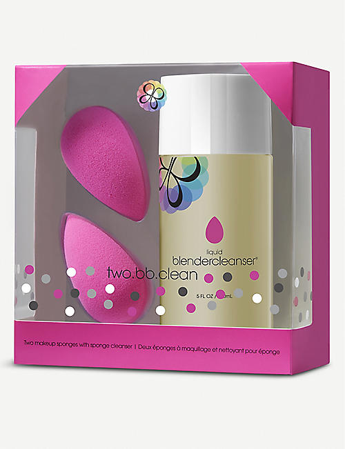 BEAUTYBLENDER two.bb.clean blending sponges and cleanser