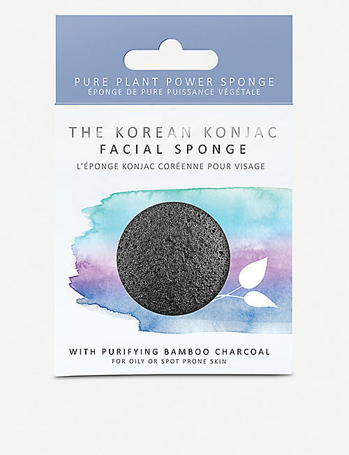 THE KONJAC SPONGE COMPANY:魔芋竹炭面粉扑
