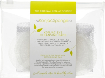 THE KONJAC SPONGE COMPANY 100% Pure Konjac Eye Cleansing Pads
