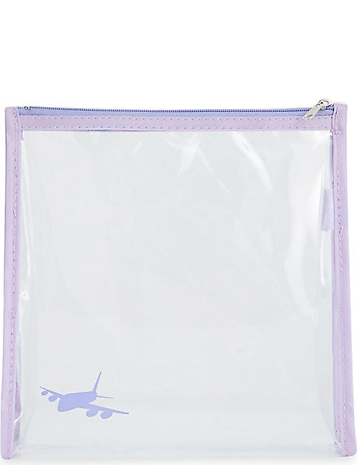 ROCKET BAGS Aeroplane clear travel bag