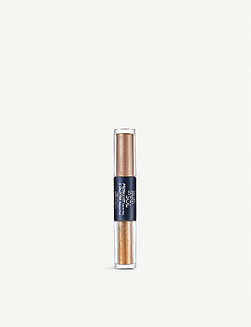 TOUCH IN SOL: Metallist Liquid Foil & Glitter Eye Shadow Duo 2.2ml, 2g