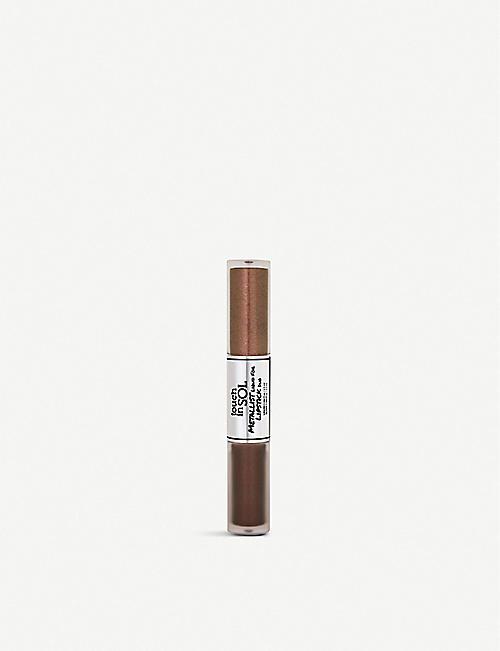 TOUCH IN SOL: Metallist Liquid Foil and Glitter Lipstick Duo