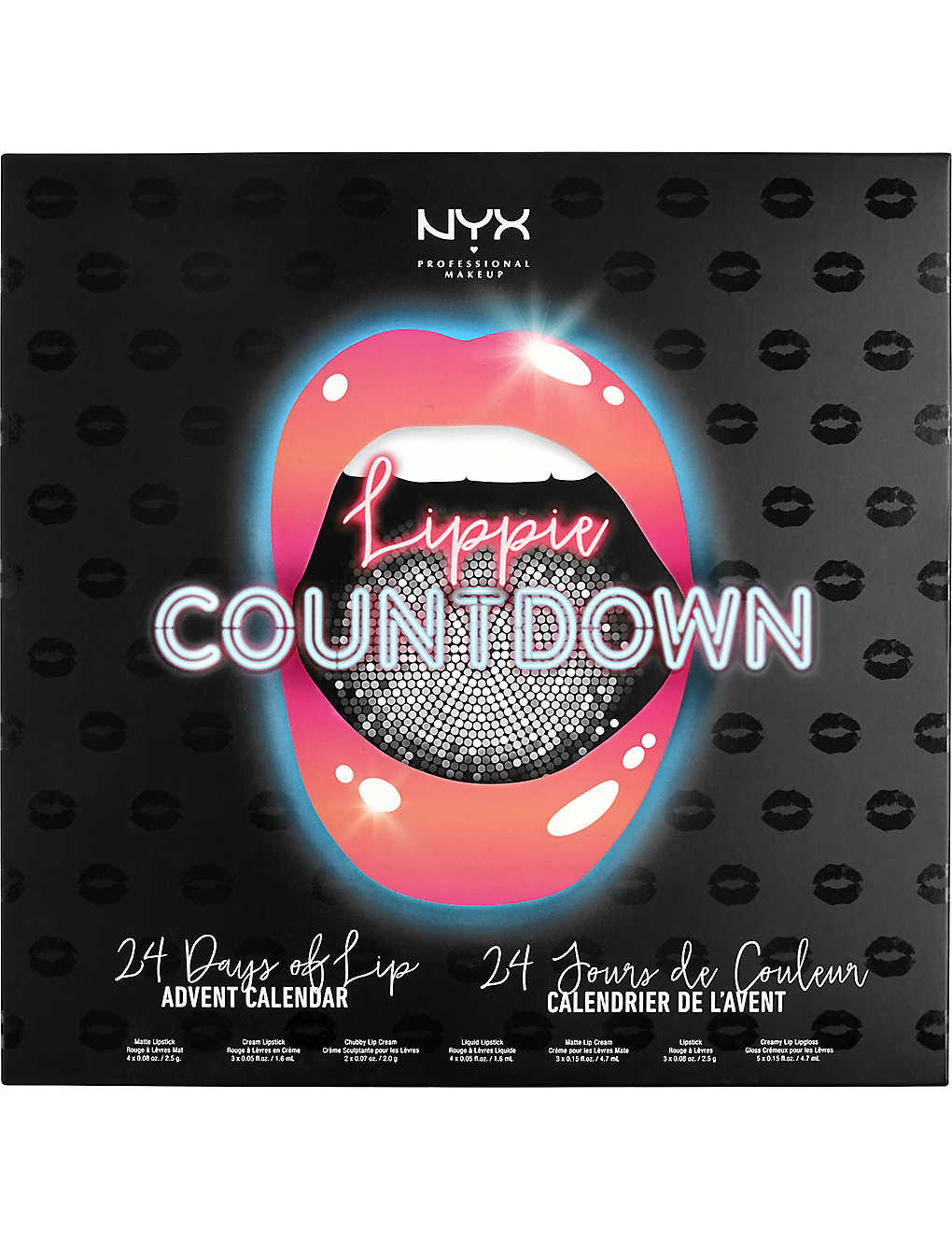 NYX PROFESSIONAL MAKEUP: Lippie Countdown Advent Calendar