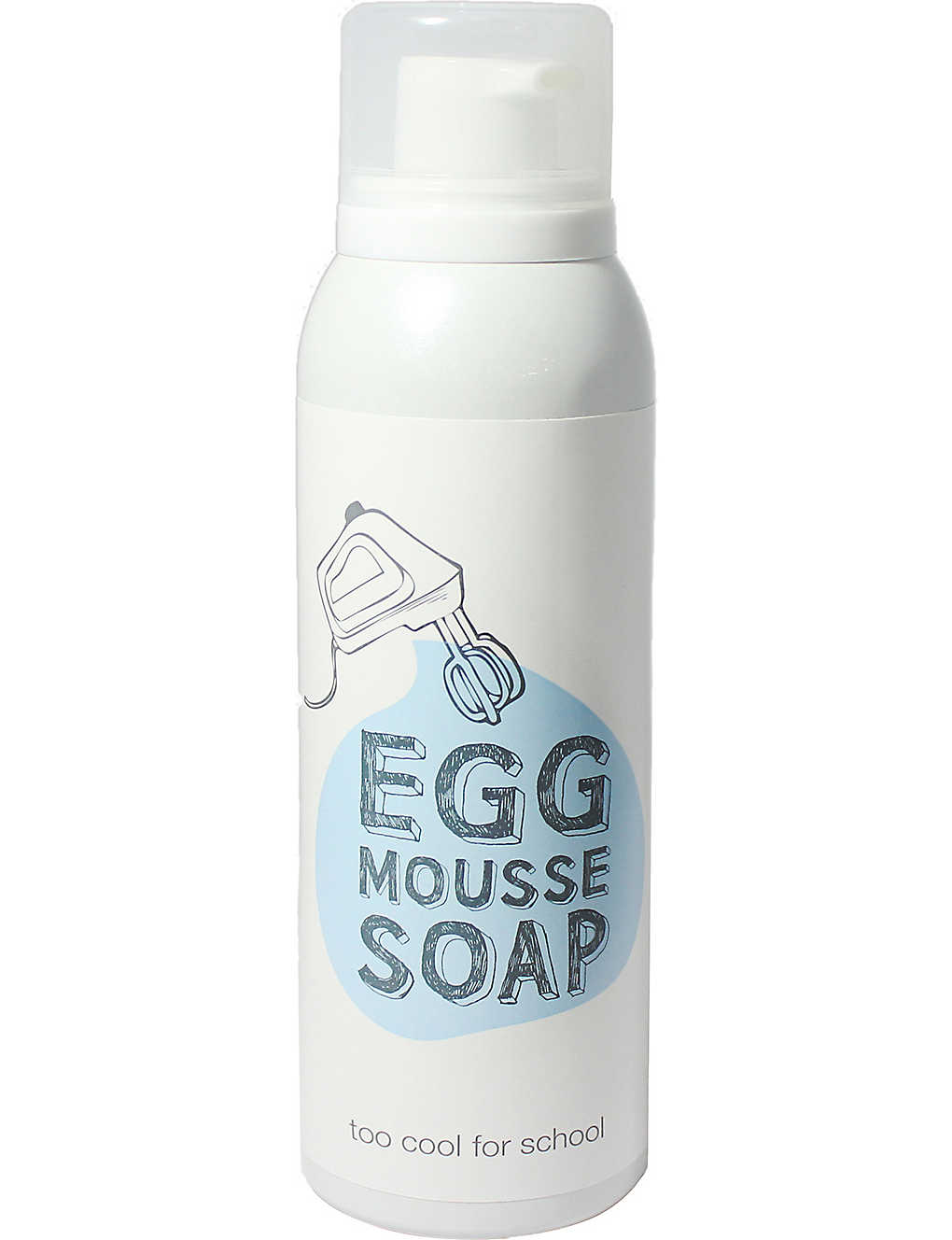 TOO COOL FOR SCHOOL: Egg mousse soap facial cleanser