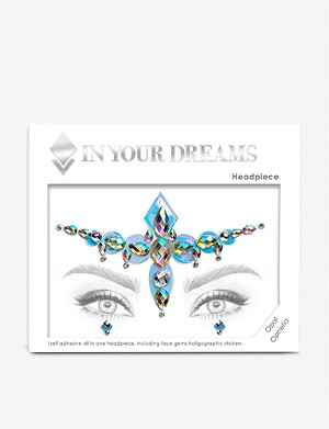 IN YOUR DREAMS Opal Ophelia face gem and holographic stickers
