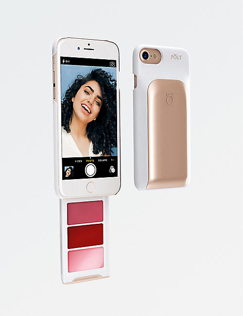 POUT CASE Make-up palette iPhone case
