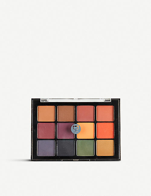 VISEART: 04 Dark Matte eyeshadow palette 24g