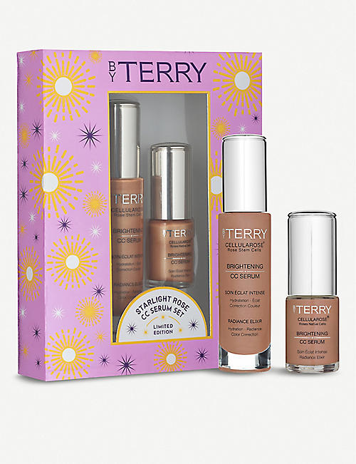 BY TERRY Starlight Rose Brightening CC Serum Set Sunny Flash