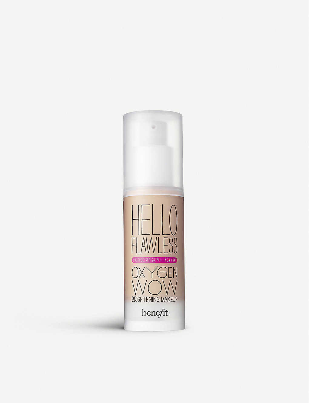 BENEFIT: HELLO FLAWLESS OXYGEN WOW NUTMEG