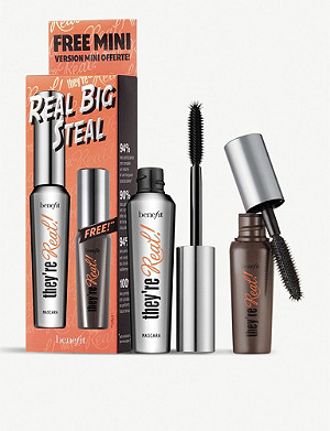 BENEFIT Real Big Steal mascara set