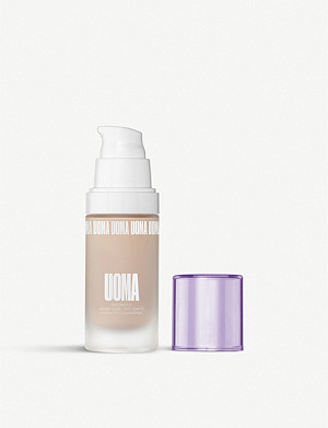 UOMA BEAUTY White Pearl Say What?! Luminous Matte Foundation