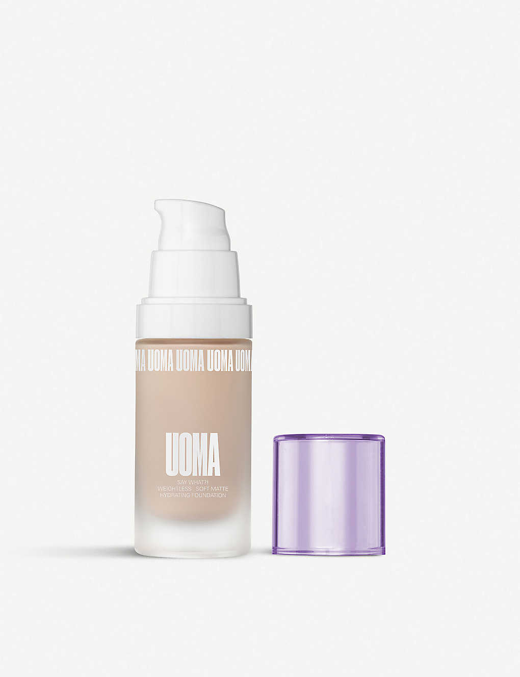 UOMA BEAUTY: White Pearl Say What?! Luminous Matte Foundation
