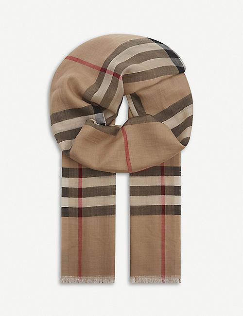 BURBERRY - Scarves - Accessories - Womens - Selfridges  135f1a0eec