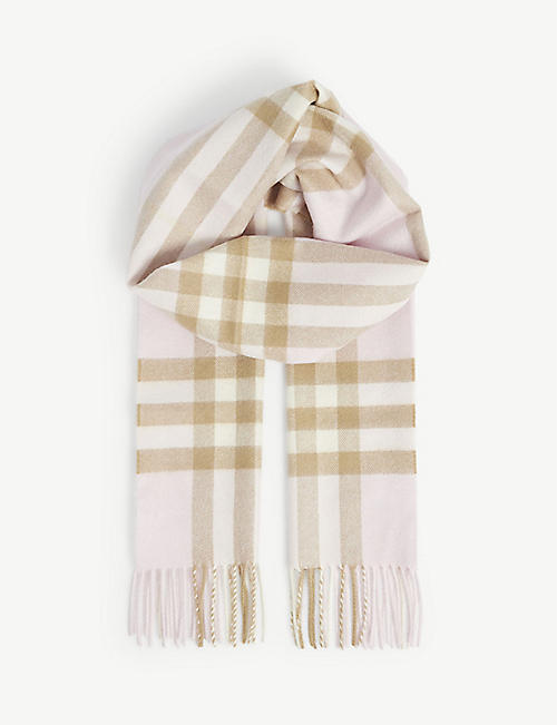 BURBERRY - Scarves - Accessories - Womens - Selfridges  a51556954f