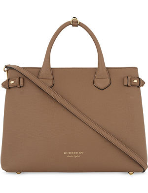 61a9a46dfa4f ... where to buy mulberry. bayswater small leather tote. burberry banner  medium leather tote e0ece ...