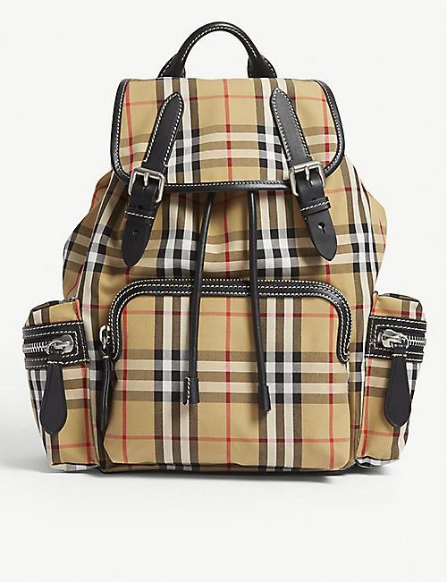 433579207c06 BURBERRY Vintage check medium cross-body rucksack. Quick view Wish list
