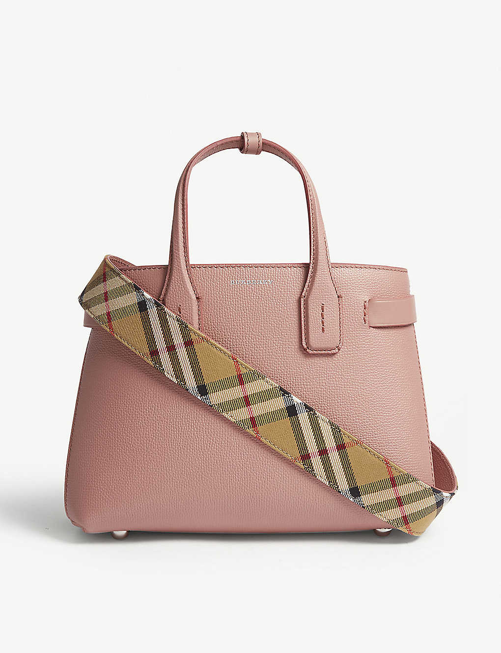 82a194a08b BURBERRY - New Banner small grained leather tote | Selfridges.com