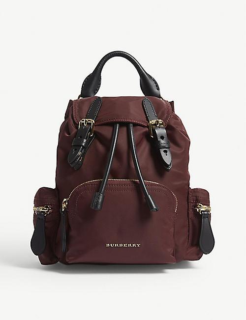 bfcd1aec58b2 BURBERRY Small nylon cross-body rucksack. Quick view Wish list