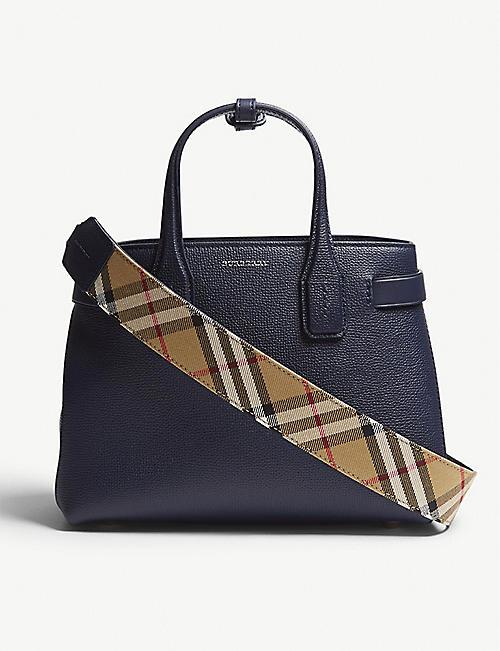 1da0ad3efbd1 BURBERRY - Banner small grained leather tote