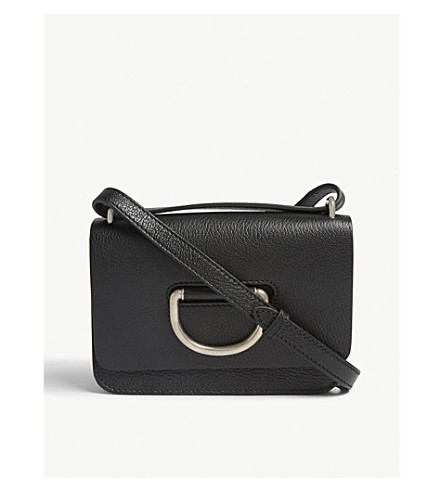 c7ae5a332a62 ... BURBERRY Mini leather D-ring cross-body bag (Black+2. PreviousNext