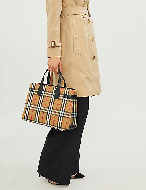 BURBERRY Medium Banner tote bag