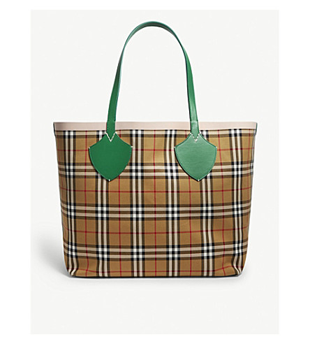 ecc73726d367 ... BURBERRY The Giant reversible tote (Palm+green+pink. PreviousNext