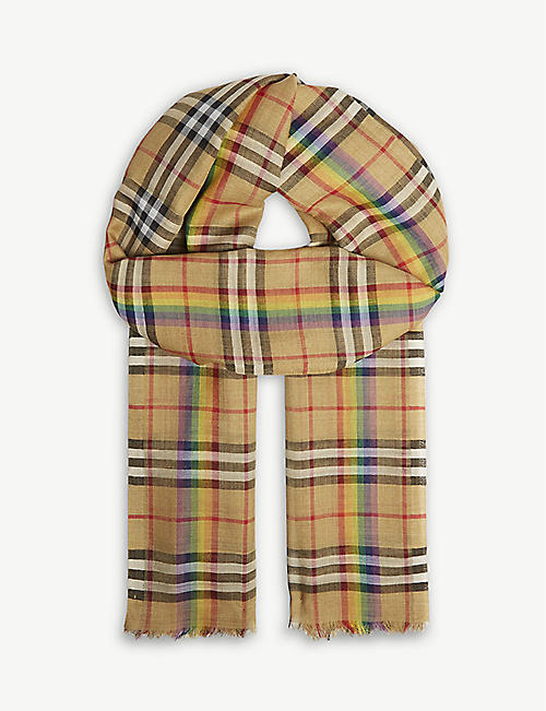 df5acb05a332 BURBERRY - Scarves - Accessories - Womens - Selfridges