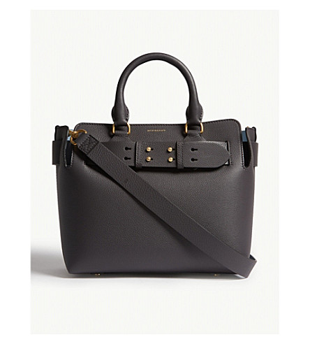 ... BURBERRY Leather small belt bag (Charcoal+grey. PreviousNext 2840adf7b348a