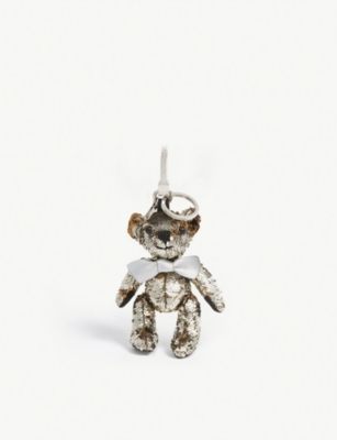 BURBERRY Sequin Thomas Bear keyring