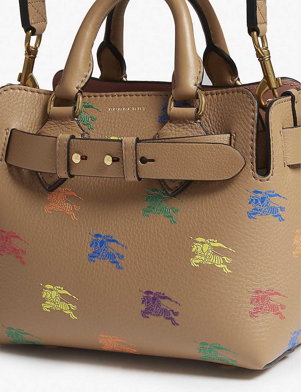928b7d2fc137 ... Equestrian knight leather belt bag - Camel zoom