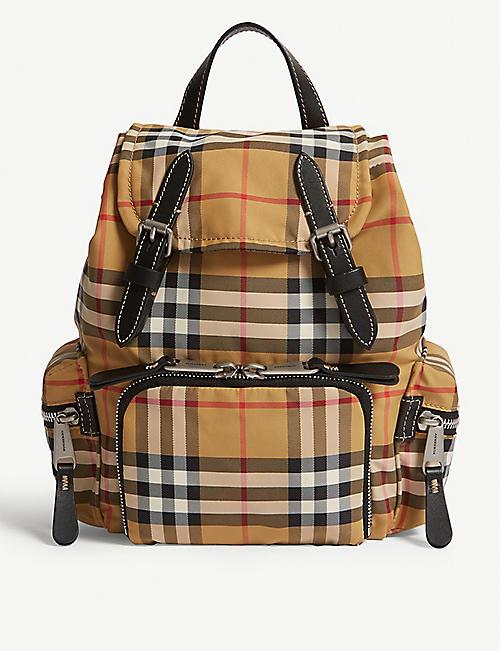 Backpacks for Women - Burberry, Longchamp   more   Selfridges 44868f401d