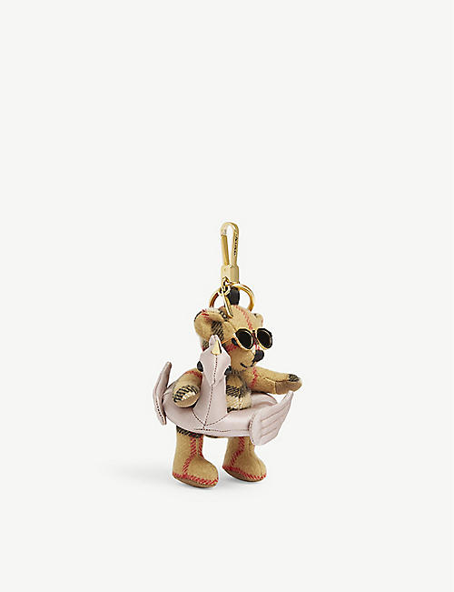 BURBERRY Thomas beach float bear keyring