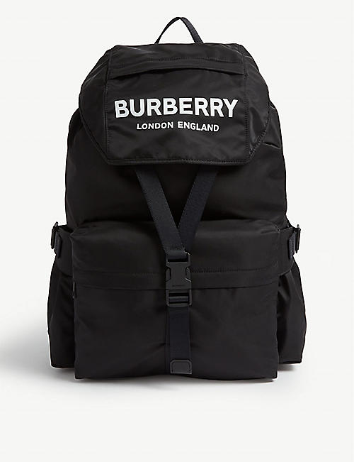 f88b474d098 BURBERRY Nylon backpack