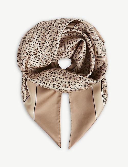 BURBERRY - Scarves - Accessories - Womens - Selfridges  659ea4a0928