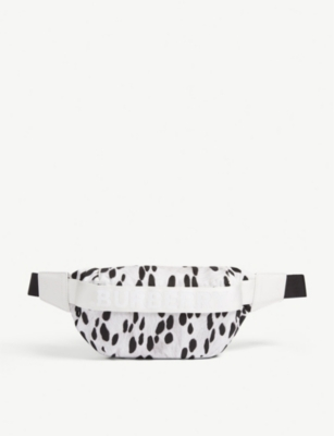 BURBERRY Sonny animal print belt bag
