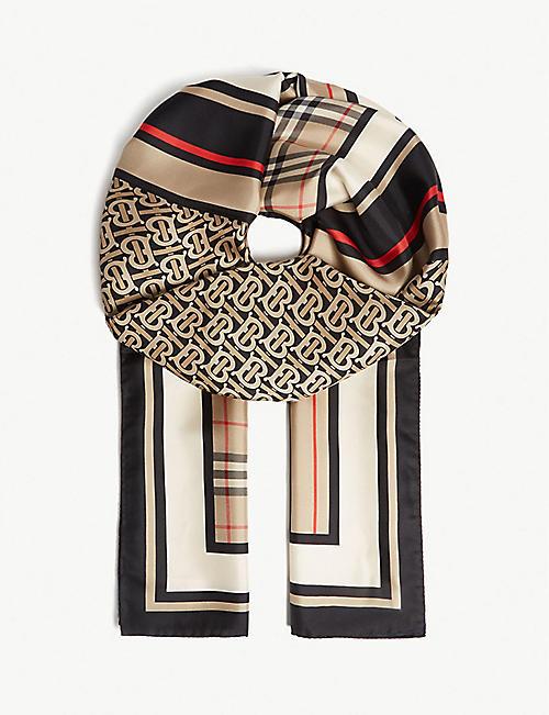 09668c4f8c0 BURBERRY - Scarves - Accessories - Womens - Selfridges