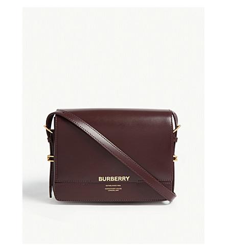 de6058b82e BURBERRY - Grace leather shoulder bag   Selfridges.com