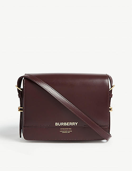 cb80e627c30a BURBERRY Grace leather shoulder bag