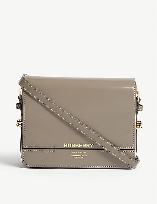 a033cf844a05 BURBERRY Grace leather shoulder bag
