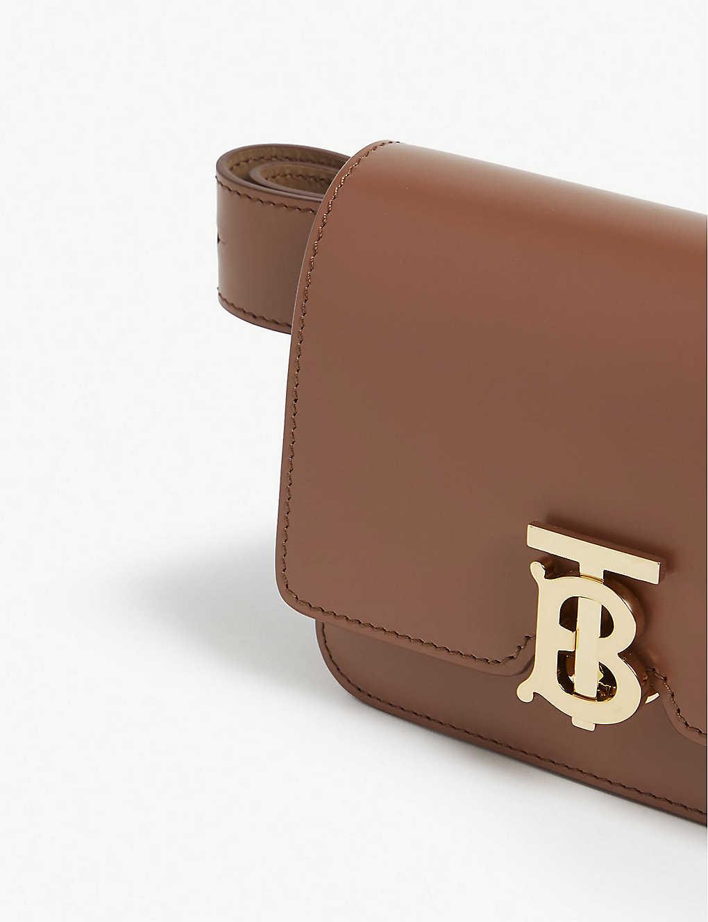 9c41eed2d BURBERRY - TB logo leather belt bag | Selfridges.com